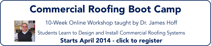 Commercial Roofing Boot Camp